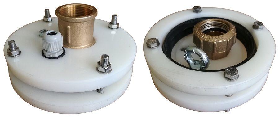 głowica studni głębinowej z przyłączami ITAP VX